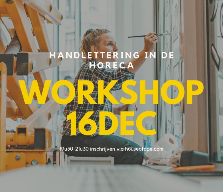 Handlettering workshop LOAS